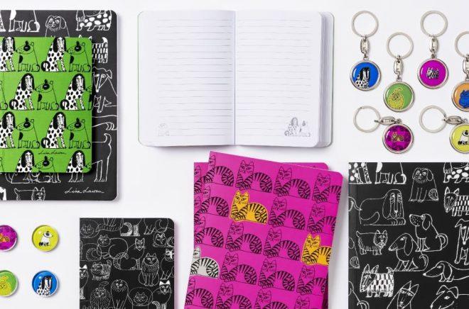 Akademibokhandeln börjar sälja produkter designade av Lisa Larson.