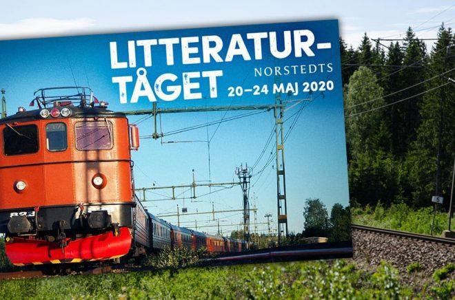 Litteraturtåget är namnet på Norstedts senaste evenemang som sammanför läsare och författare. På bara några dagar har nästan hälften av biljetterna sålts. Bakgrundsfoto: iStock.