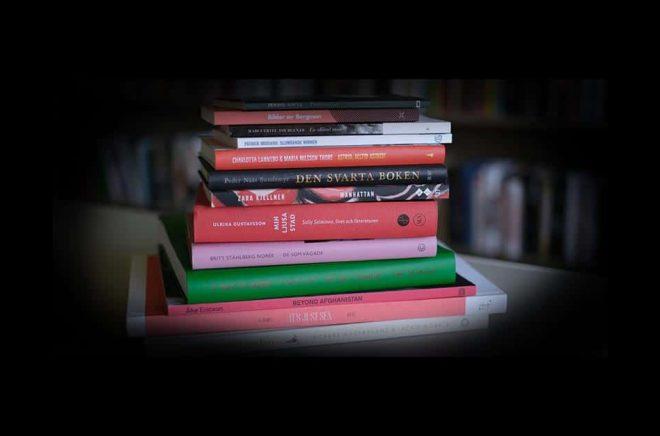 Nu höjs litteraturstödet med 10 procent. Foto: Kulturrådet.