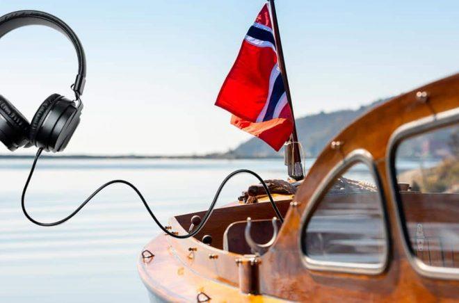 Det stormar på den norska ljudboksmarknaden, under ytan. Foto: iStock.