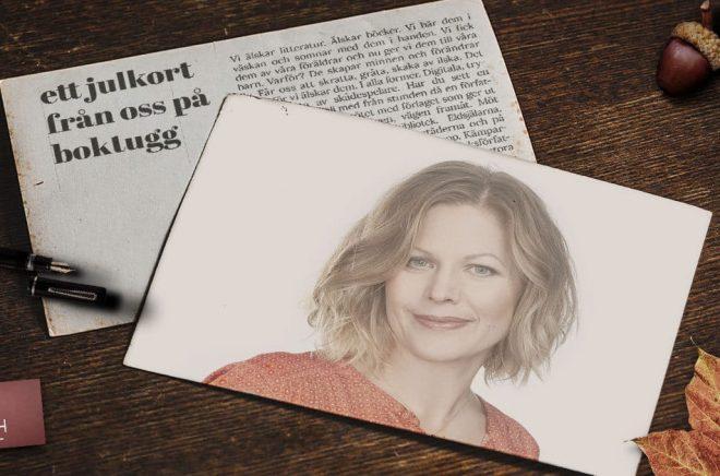 Louise Bäckelin, förläggare på Louise Bäckelin Förlag.