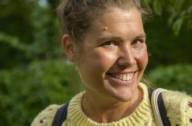 Författaren Malin Eriksson.