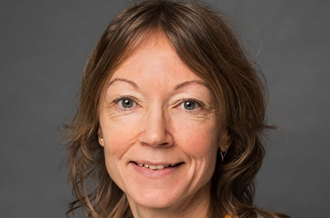 Maria Telenius, handläggare för Bokstart hos Kulturrådet. Foto: Privat