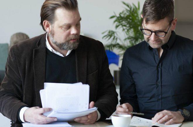 Martin Kaunitz och Thomas Olsson. Foto: Pressbild/Kaunitz-Olsson
