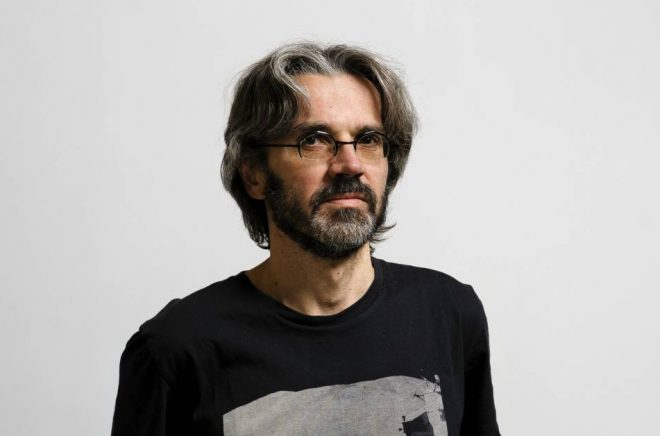 Bokhandlaren och författaren Maths Claesson. Foto: Stefan Tell