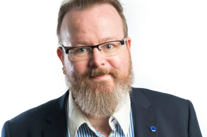 Mattias Lönnqvist. Foto: Fredrik Sederholm