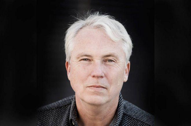 Författaren Mikael Bergstrand väljer Malmöförlaget Bokfabriken för sin nästa bok. Foto: Lars Dareberg.