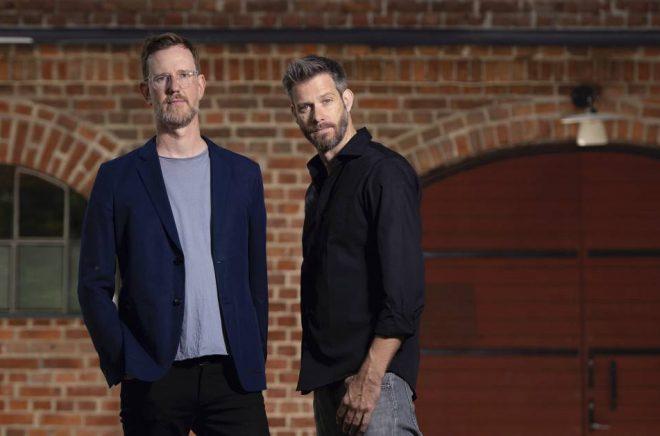 Författarduon Mohlin & Nyström. Foto: Magnus Liam Karlsson