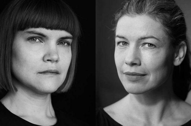 Författarna Sara Bergmark Elfgren (foto: Henric Lindsten) och Sara Lundberg (foto: Ola Kjelbye) är nominerade till Nordiska rådets barn- och ungdomslitteraturpris.
