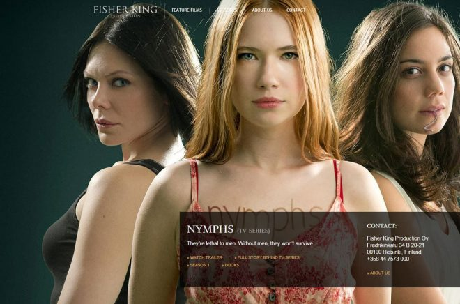 nymphs-fisher-king-production