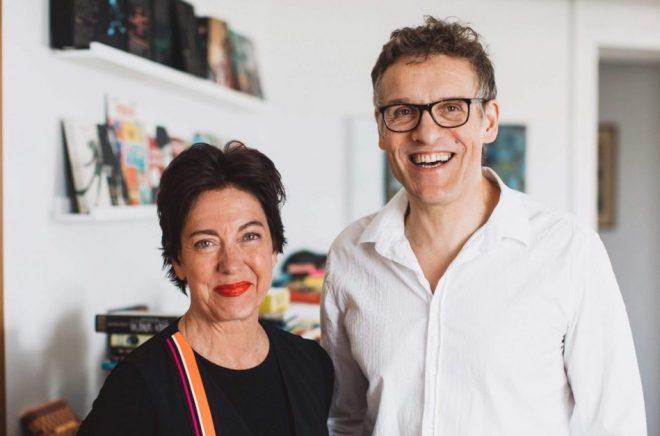 Otto Sjöberg och Eva Swartz Grimaldi. Foto: Kajsa Göransson