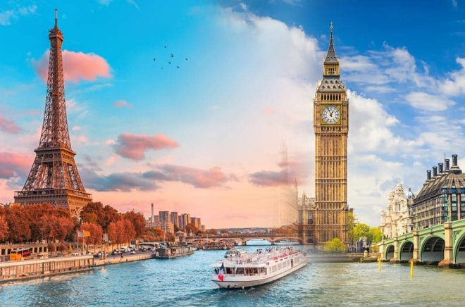 Två av vårens stora bokmässor, Livre Paris och London Book Fair, har redan nu senarelagt sina evenemang 2021 till maj respektive månadsskiftet juni/juli. Foto: iStock. Montage: Boktugg.