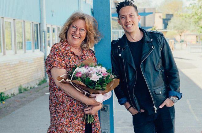 Anneli Glamsare blir årets läsfrämjare 2021 och den första mottagaren av stipendiet från författaren Pascal Engmans stiftelse. Foto: Pressbild.