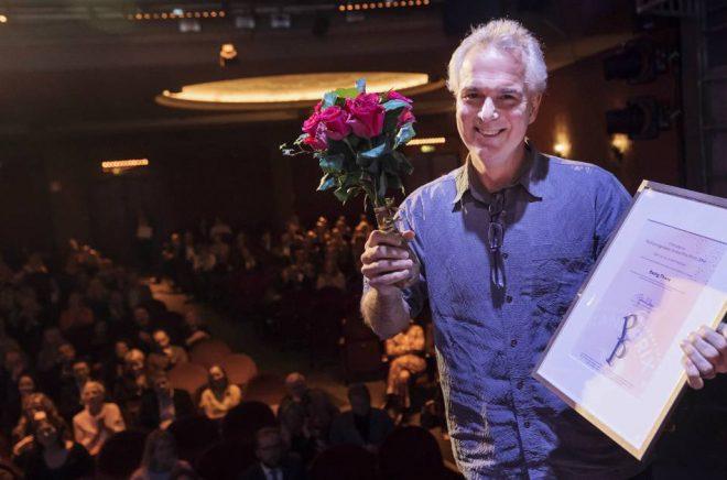 Fotografen Paul Hansen vinner Publishingpriset för sin bok Being There. Foto: Stina Stjernkvist