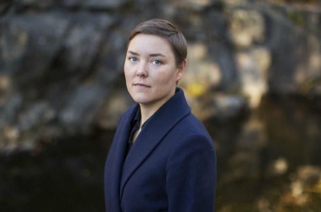 Pernillla Berglund, poet från Umeå och författare till