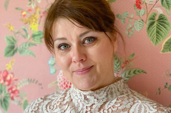 Författaren Petra Nyberg debuterade i juni 2021. Foto: Privat.