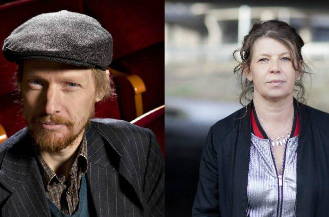 Gunnar Källström (foto: pressbild) och Lina Ekdahl (foto: Lina Ikse) är två av de medverkande på Poesidagar i Dalsland 2020.