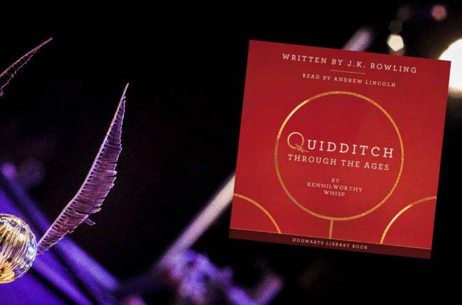 Ny ljudboksutgåva av Quidditch Through the Ages spelades upp på ett av Londons konserthus. Foto: Edmund Gall/Flickr