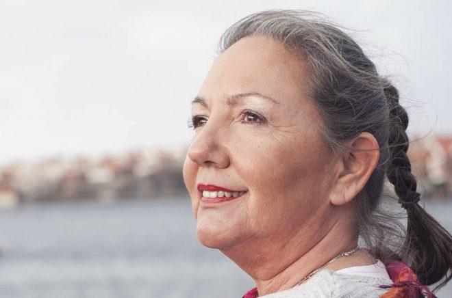 Författaren Ramona Fransson. Foto: Linda Lundkvist