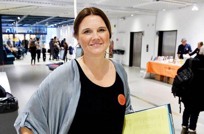 Rebecca Liden, projektledare för SmåLit. Foto: Privat