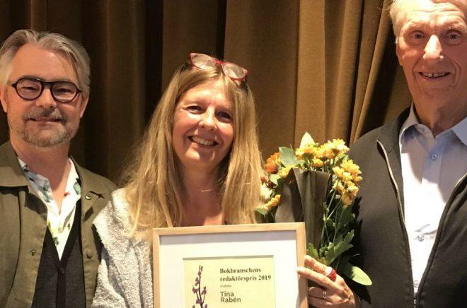 Stefan Skog, Tina Rabén och Bertil Wahlström. Foto: Danuta Engstedt