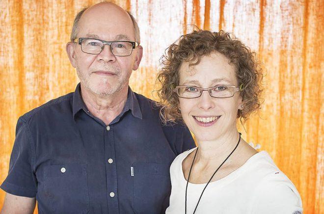 Rex Brådhe och Michaela Hennig Brådhe.
