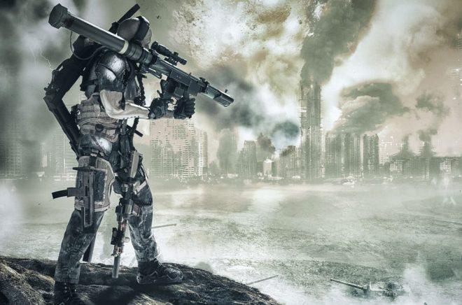 Vilka framtida hot bör vi se upp med? Cyborger och vapen som inte finns idag? Den franska armén vänder sig nu till sci fi-författare för att förutspå framtida hot. Illustration: studioalef/iStock.