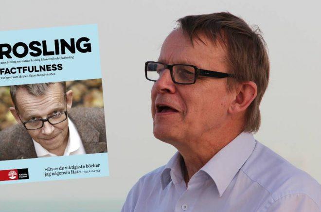 Hans Rosling, professor, föreläsare och folkbildare. Foto: Lawrence Wang/Flickr