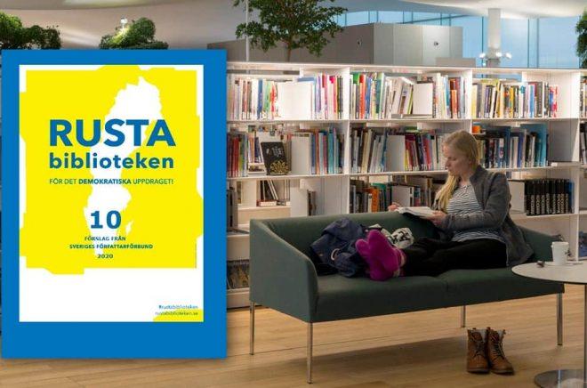 Inrätta lokala läsråd med målet att samla in kunskap om icke-läsarna och hur deras läsoch litteraturbehov kan fångas upp av folkbiblioteken, är ett av tio förslag från Författarförbundet. Foto: iStock. Montage: Boktugg.