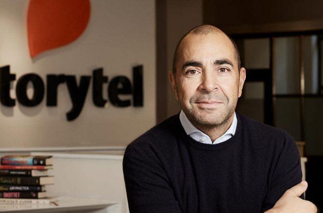 Rustan Panday, avgående styrelseordförande Storytel. Foto: Åsa Liffner.