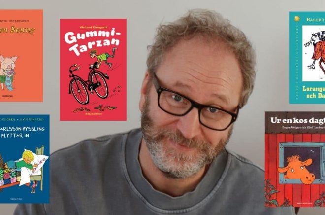 Författaren Sören Olsson. Foto: Vide Olsson