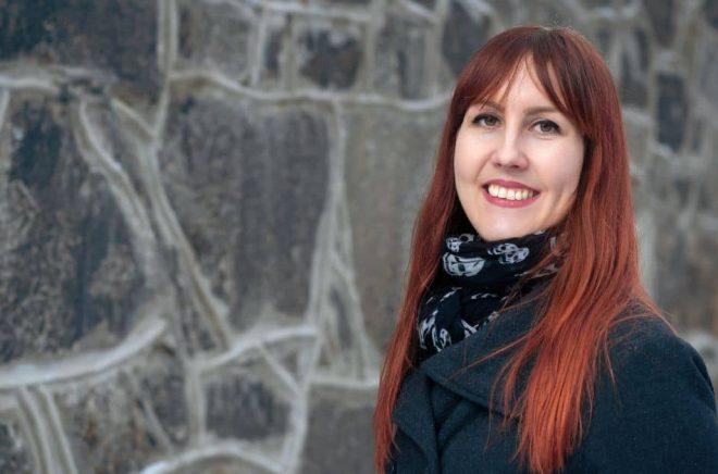 Debutanten Sofia Bergström. Foto: Stefan Tell