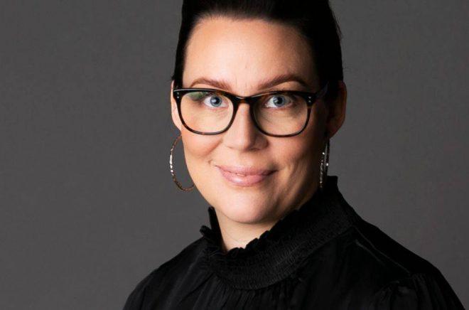 Författaren Sara H. Olsson. Foto: Karin Linde