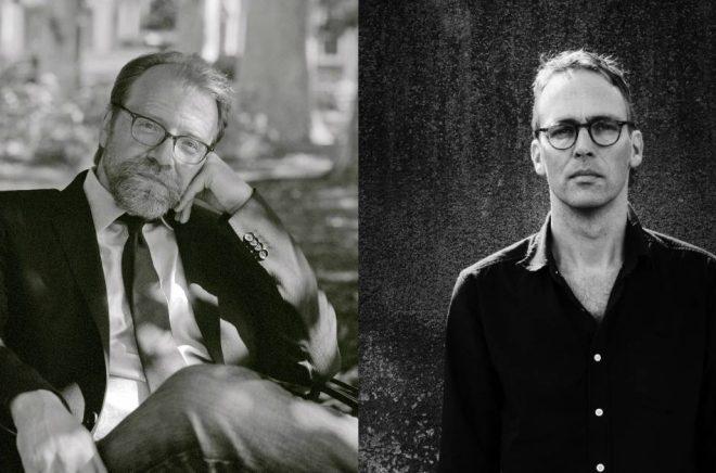 George Saunders (foto: David Crosby) och Niclas Nilsson (foto: Sara Mac Key).