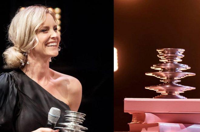Emelie Schepp tog hem Storytel Awards i både Island och Sverige. Foto: Storytel