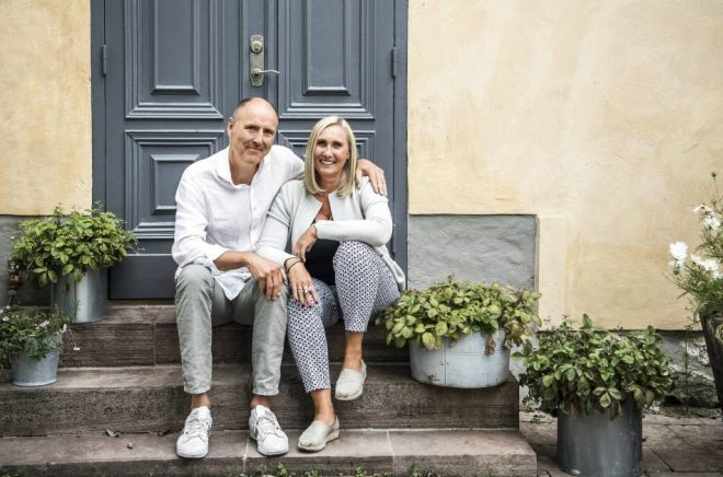 Cissi och Mats Erwald. Foto: Carolina Byrmo/Aftonbladet