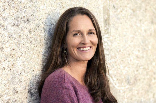 Sofia Lundberg, en av de fm författarna bakom kommande romanen The Friday Night Club. Foto: Viktor Fremling