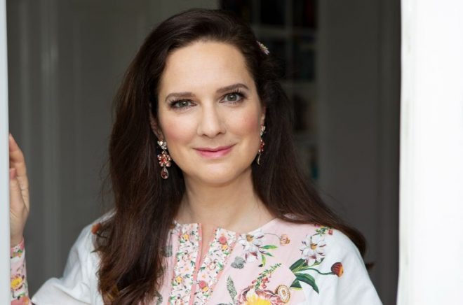 Författaren Sofie Sarenbrant. Foto: Tommy Sarenbrant