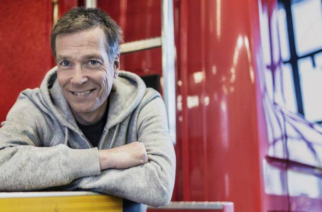 Johan Anderblad, författare och läsambassadör. Foto: Ulrica Zwenger