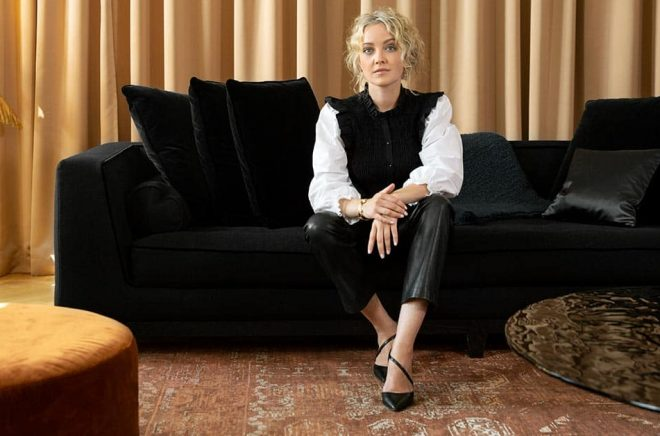 Sophie Abrahamsson, Chief Commercial Officer på Bambuser. Foto: Pressbild.