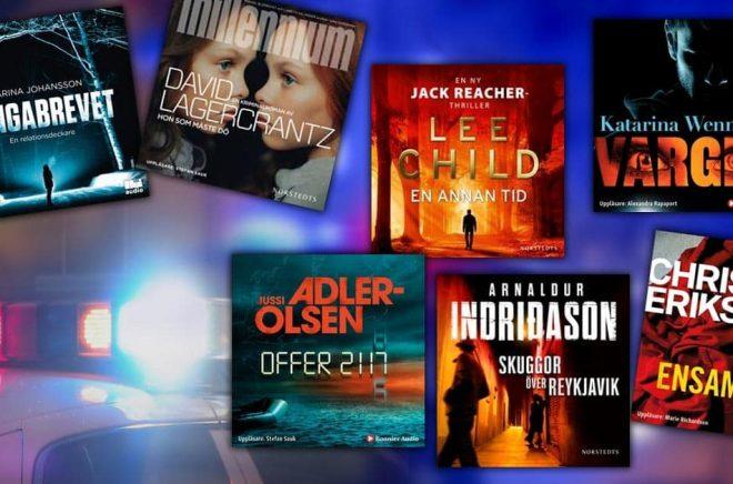 Spänningsromaner och deckare är populärt att lyssna på. Vi har samlat några av höstens böcker som släpps som ljudbok. Bakgrundsfoto: iStock.