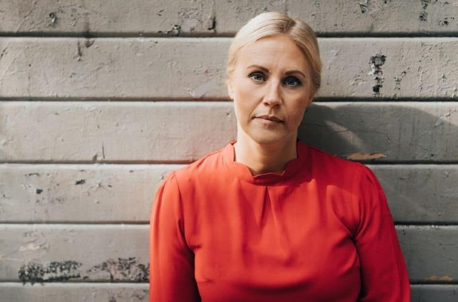 Författaren Linda Ståhl. Foto: Kajsa Göransson