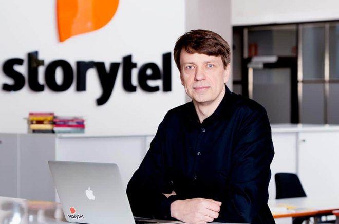 Stefan Tegenfalk lämnar Storytel. Foto: Pressbild.