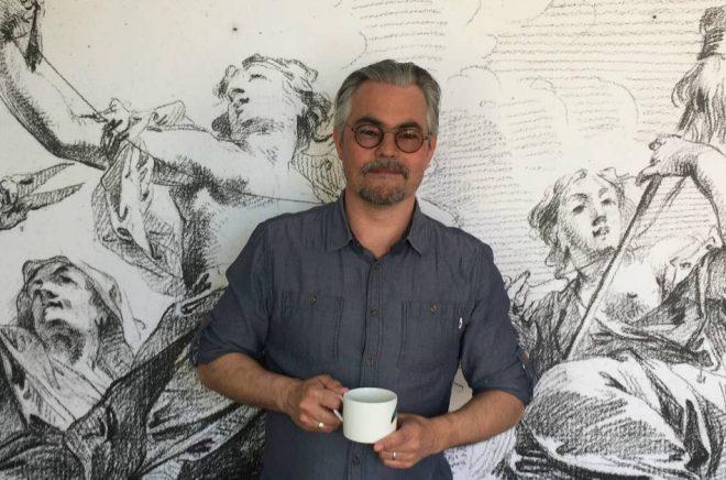 Stefan Skog, förläggare på Nona förlag och juryordförande för Redaktörspriset.