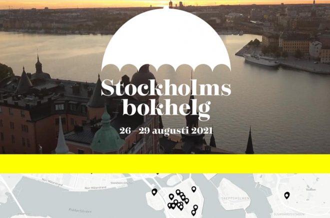 Snart fylls Stockholms gator med litterära event och mötesplatser när förlag, bokhandlare och andra samlas under Stockholms bokhelg 26-20 augusti 2021.