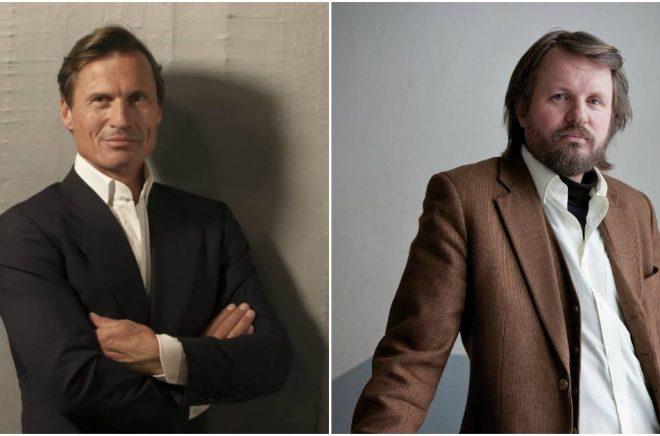 Finansmannen Petter Stordalen har startat förlag och lockar till sig flera stora författarnamn, däribland krim- och barnboksförfattaren Tom Egeland (foto: Raymond Mosken).