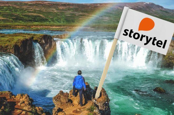Storytel gör en stor affär på Island med köpet av Forlagið, landets största förlag. Foto: iStock. Montage: Boktugg.