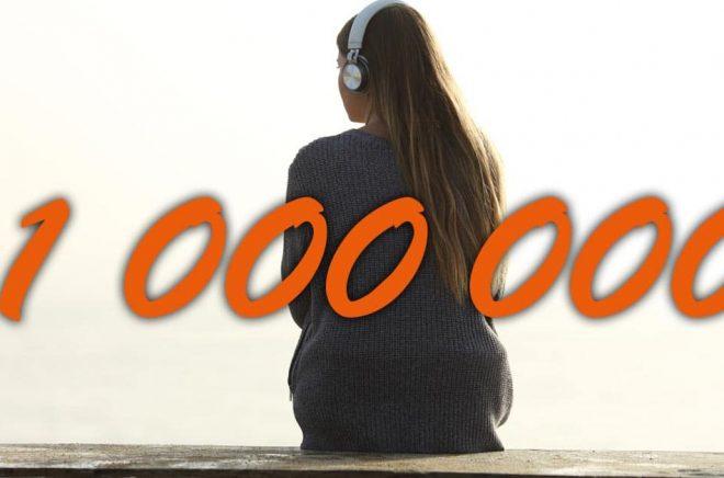 En miljon prenumeranter på Storytel i Norden. En ny milstolpe som förändrar bokbranschen. Foto: iStock. Montage: Boktugg.