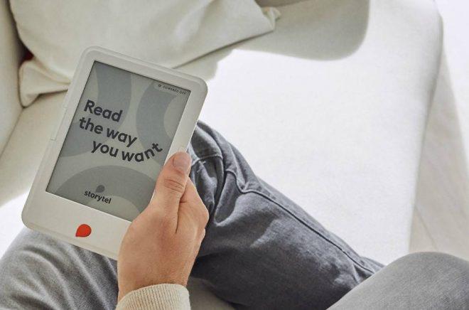 Nu kommer version två av Storytel Reader, nu med bluetooth och en rad andra tekniska uppdateringar. Foto: Storytel