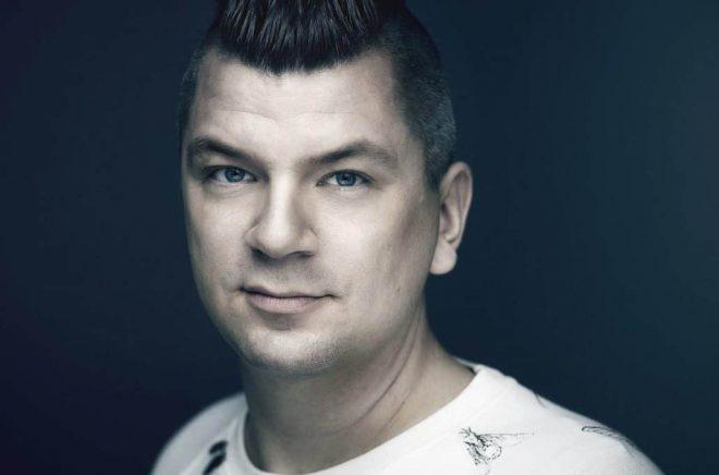 Författaren Mats Strandberg. Foto:Henric Lindsten